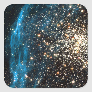 Abra el cúmulo de estrellas NGC 1850 en la Pegatina Cuadrada