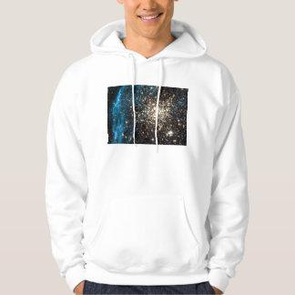 Abra el cúmulo de estrellas NGC 1850 en la Sudaderas