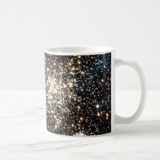 Abra el cúmulo de estrellas NGC 1850 en la Taza Clásica