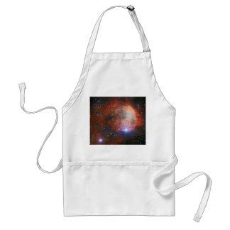 Abra el cúmulo de estrellas NGC 3324 en la nebulos Delantal