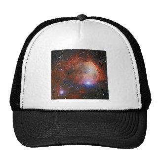 Abra el cúmulo de estrellas NGC 3324 en la nebulos Gorras De Camionero