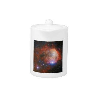 Abra el cúmulo de estrellas NGC 3324 en la nebulos