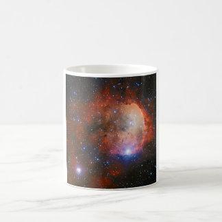 Abra el cúmulo de estrellas NGC 3324 en la Taza