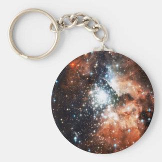 Abra el cúmulo de estrellas NGC 3603 en la nebulos Llavero Personalizado
