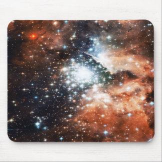 Abra el cúmulo de estrellas NGC 3603 en la nebulos Tapetes De Ratones