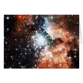 Abra el cúmulo de estrellas NGC 3603 en la nebulos Felicitaciones
