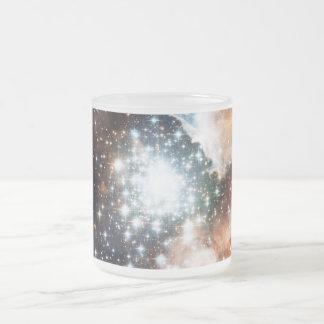 Abra el cúmulo de estrellas NGC 3603 en la Taza De Cristal