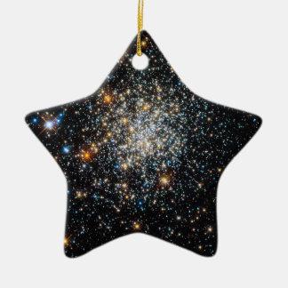 Abra el cúmulo de estrellas NGC 411 Ornamento Para Reyes Magos