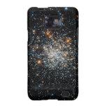 Abra el cúmulo de estrellas NGC 411 Samsung Galaxy S2 Fundas