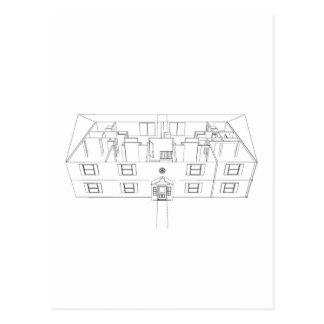 Abra el dibujo de Floorplan: Postal