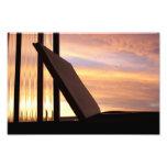 Abra el libro y la fotografía de la puesta del sol