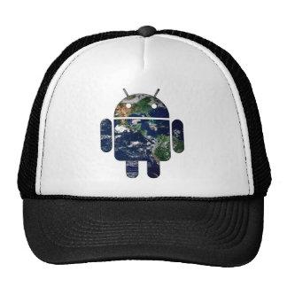 Abra el mundo gorras de camionero