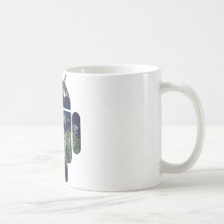 Abra el mundo taza de café