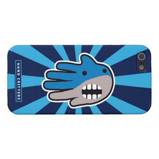 Abra el tiburón de la boca iPhone 5 protector