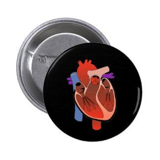 Abra Hearted Pin Redondo 5 Cm