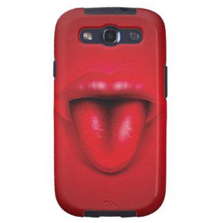 Abra la boca con la expresión de la cara de la samsung galaxy s3 cárcasas