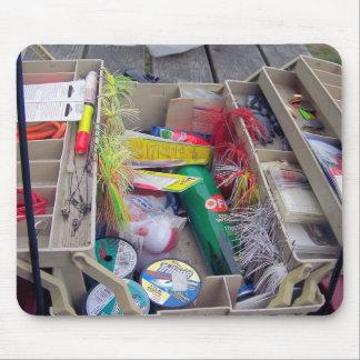 Abra la caja de aparejos alfombrillas de raton