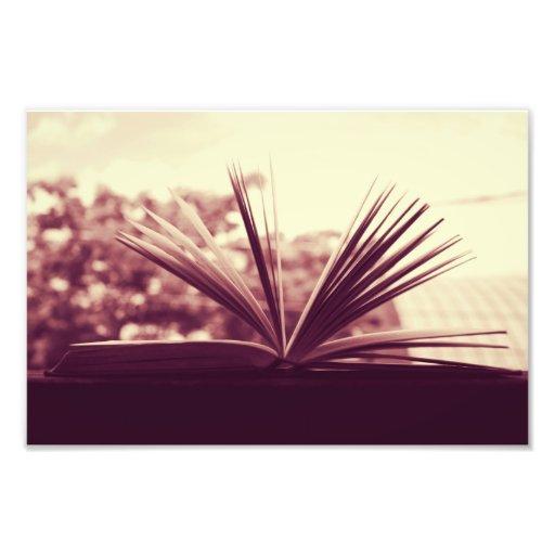 Abra la fotografía del libro fotos