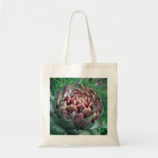 Abra la planta de alcachofa bolsa tela barata