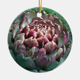 Abra la planta de alcachofa ornamento de navidad