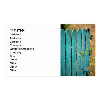 Abra la puerta tarjetas de visita