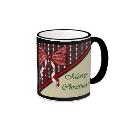 Abra la taza de café del regalo de Navidad