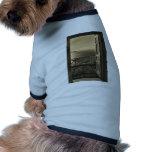 Abra puerta-Retro Camiseta De Perro