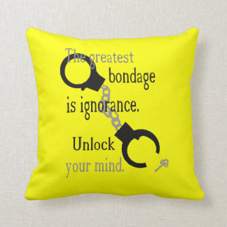 Abra su almohada de tiro de la mente