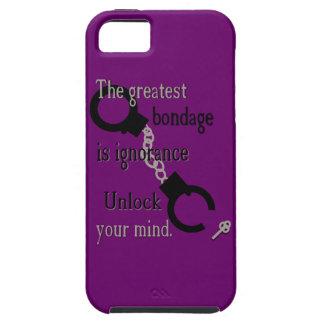 Abra su caja de IPhone 5 de la mente Funda Para iPhone SE/5/5s