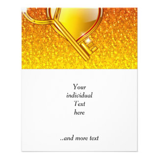 abra su corazón tarjeta publicitaria