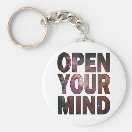 Abra su mente llaveros