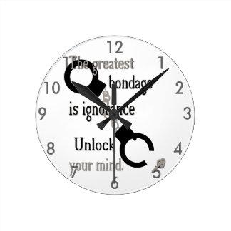 Abra su reloj de la mente
