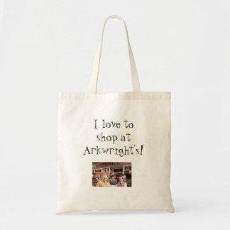 """Abra tote de las compras de todo el las horas """"Ark Bolsa Tela Barata"""
