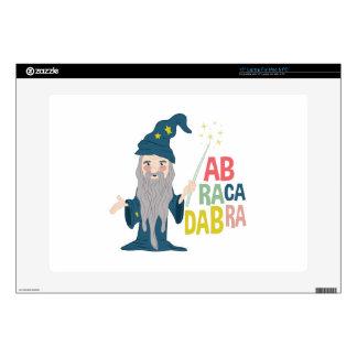 "Abracadabra 15"" Laptop Decal"