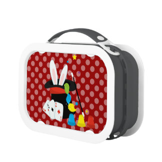 ABRACADABRA choose your own background color Lunch Box