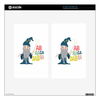 Abracadabra Decal For Kindle Fire
