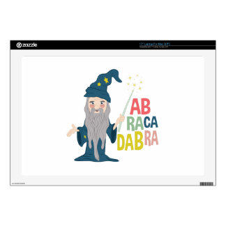 Abracadabra Decal For Laptop