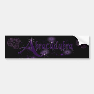 Abracadabra Drk Bumper Sticker
