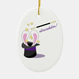 Abracadabra Hat Ceramic Ornament