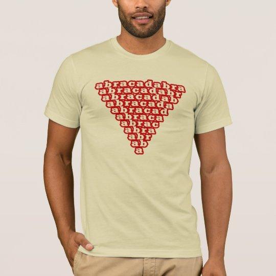 abracadabra inverted triangle T-Shirt