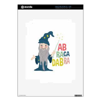 Abracadabra iPad 2 Decals