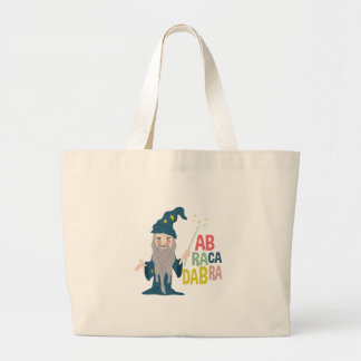 Abracadabra Large Tote Bag