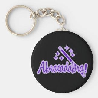 Abracadabra Llavero Redondo Tipo Pin