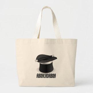 Abracadabra Magic Top Hat Large Tote Bag