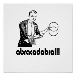 Abracadabra  Magician Poster