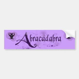 Abracadabra P Bumper Sticker