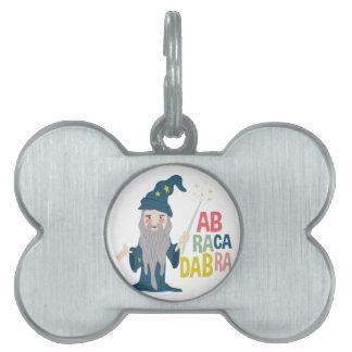 Abracadabra Pet ID Tag