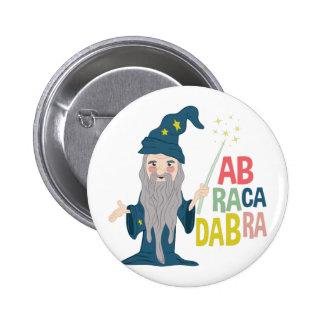 Abracadabra Pin Redondo De 2 Pulgadas