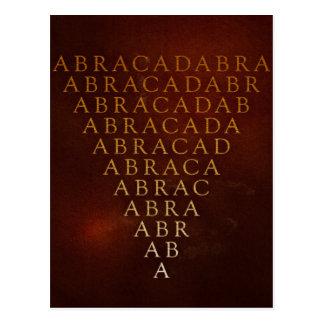 Abracadabra Postcard