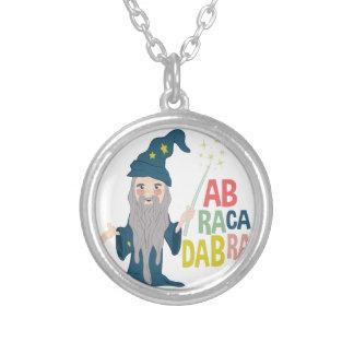 Abracadabra Silver Plated Necklace